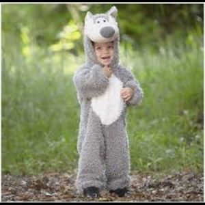 Princess Paradise Big Bad Wolf Costume 18M to 2T